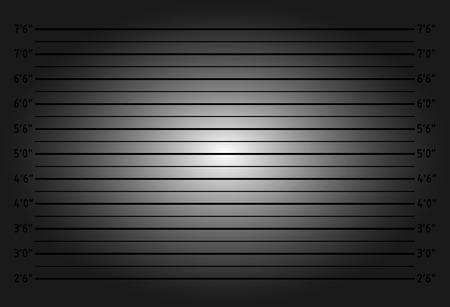 lomo: Police lineup or mugshot background - dark version
