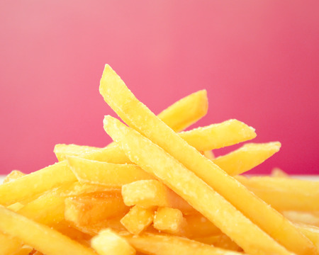 French fries or chips - one of highest trans fat foods photo
