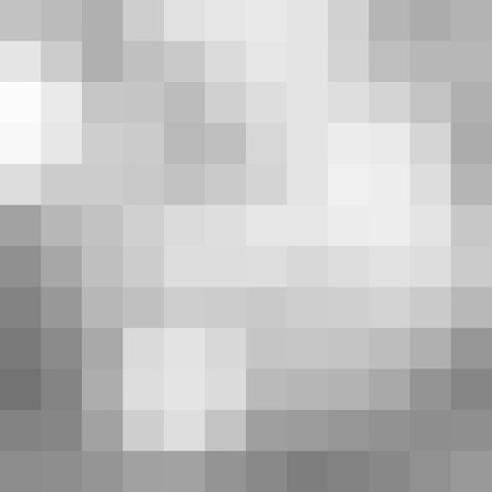 pixelation: Abstract white gray pixel pattern background