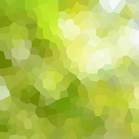 pixelate: White & green mosaic style abstract background