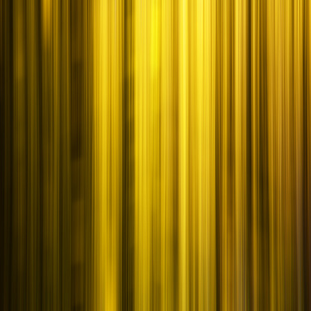 golden  gleam: Yellow lines in the dark, motion blur effect - modern abstract background Stock Photo