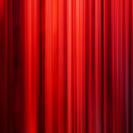 gleam: Red lines in the dark, motion blur effect - modern abstract background