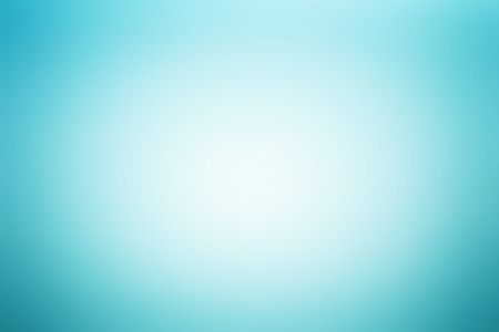 radial: Light blue abstract background with radial gradient effect Stock Photo