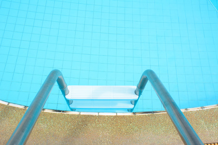 Swimming pool laddder photo