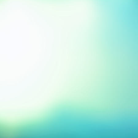 White blue (turquoise) gradient abstract background