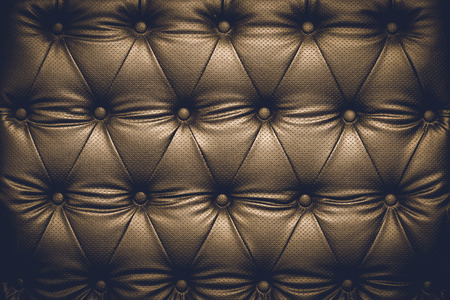 buttoned: Black leather texture background with buttoned pattern