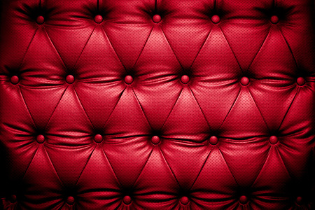buttoned: Red leather texture background with buttoned pattern