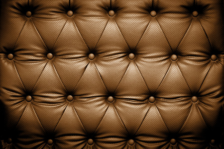 buttoned: Dark brown leather texture with buttoned pattern