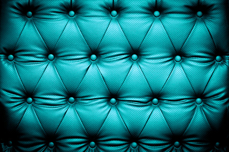buttoned: Blue turquoise leather texture with buttoned pattern