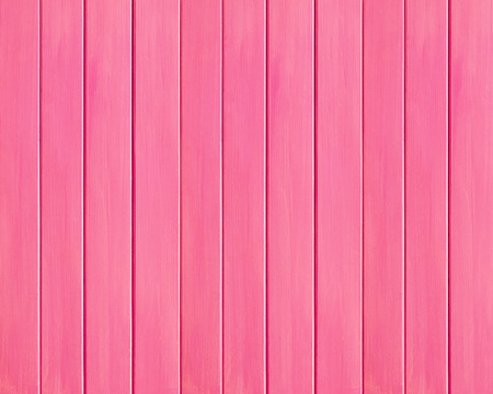 Pink colored wood plank background