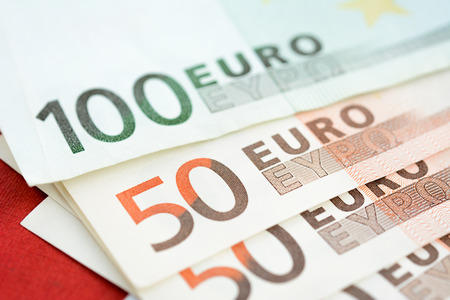 eur: Money, Euro currency (EUR) bills