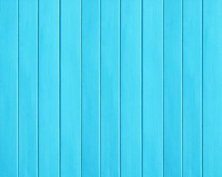ブルー色の背景としての木板のテクスチャ 写真素材