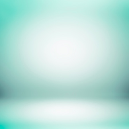 backdrops: Green turquoise gradient abstract background - can be used for display or montage your products Stock Photo