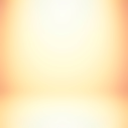 Light orange gradient abstract background - can be used for display or montage your products