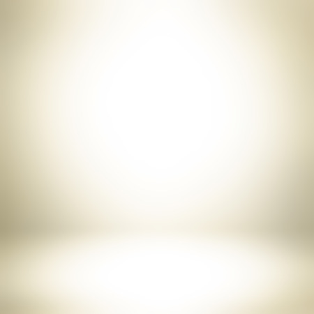 Light golden brown gradient abstract background - can be used for display or montage your products Stock Photo