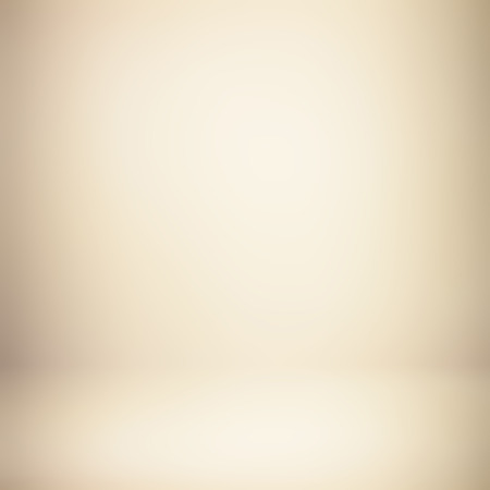 Light brown (beige) gradient abstract background - can be used for montage or display your products