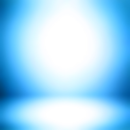 blue gradient: Blue gradient abstract room background - can be used for display or montage your products Stock Photo