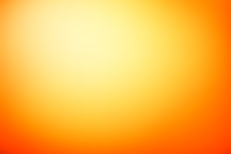 Orange abstract background with radial gradient effect