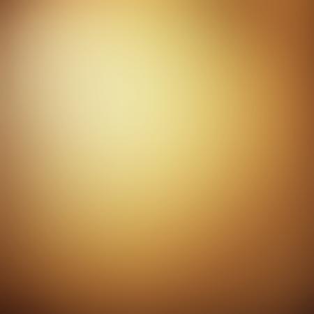 Lumière abstrait brun doré avec effet de dégradé radial