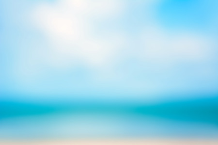 gaussian: Blur abstract background from blue sea and sky