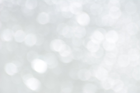 White bokeh abstract background Banque d'images
