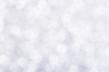 Shiny white bokeh abstract background 写真素材