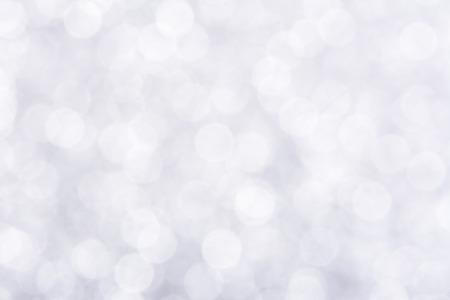 Shiny white bokeh abstract background Stockfoto