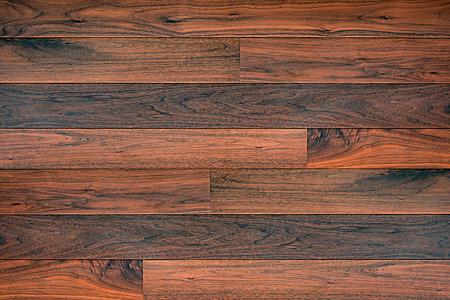 Marrone scuro parquet in legno texture di sfondo