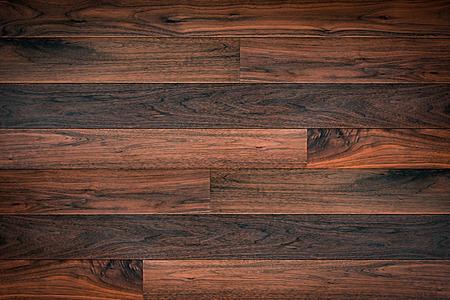 Marrone scuro parquet in legno texture di sfondo Archivio Fotografico