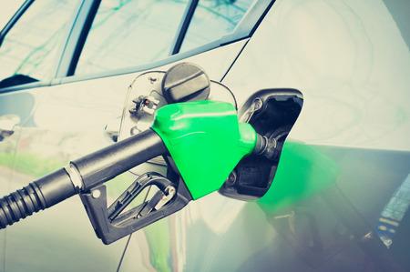 car gas: Car gas (or petrol) filling up