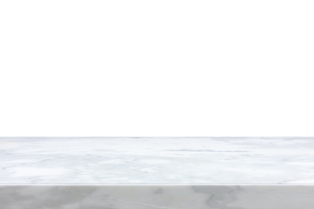 smooth: White marble stone countertop - can be used as background for display or montage your products