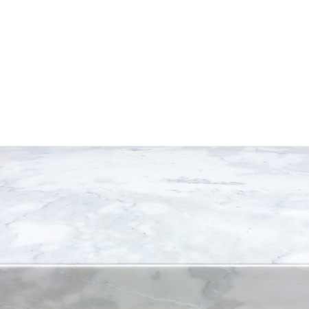 counters: White marble stone countertop - can be used as background for display or montage your products