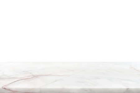 countertop: White marble stone countertop - can be used for display or montage your products