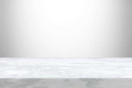 Steintischplatte auf abstrakten Hintergrund grau verlaufend - kann zur Anzeige oder montage Ihre Produkte verwendet werden, Lizenzfreie Bilder