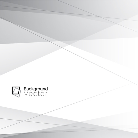 Modern white gray line abstract background