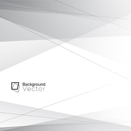 Modern wit grijze lijn achtergrond Stock Illustratie