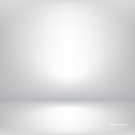 White gray gradient abstract background Stock Illustratie