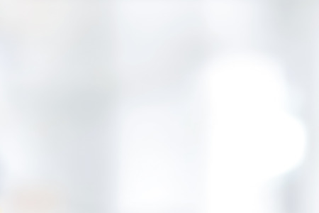 Abstract blur white background