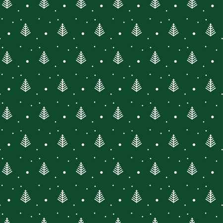 gift pattern: Green Christmas pattern for background or gift wrapping papper