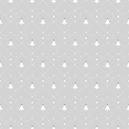 gray pattern: Christmas tree pattern on light gray background