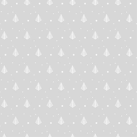 gift pattern: Christmas pattern on light gray background for gift wrapping paper
