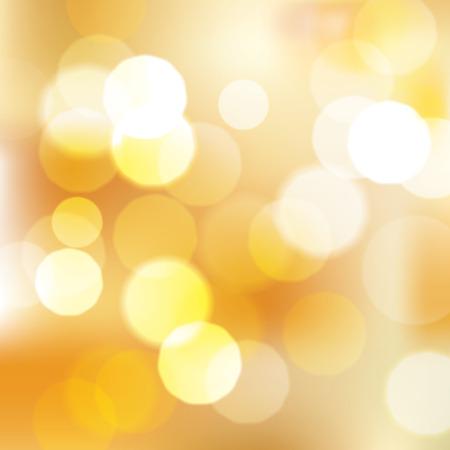 gleam: Shinny golden bokeh abstract background