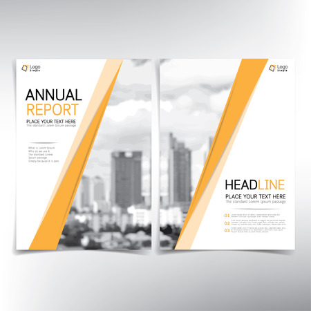condominium: Modern business cover page, vector template, condominium and real estate concept - can be used for annual report, flyer, brochure, leaflet and more