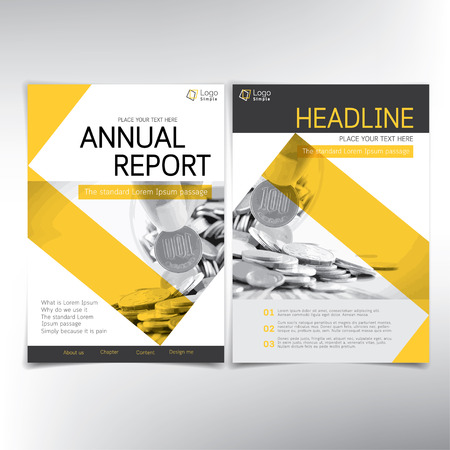 Modern business and financial cover page vector template can modern business and financial cover page vector template can be used for annual report maxwellsz