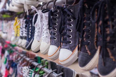 rubber sole: sneaker shop