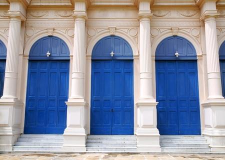 Classic Blue Door photo