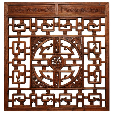 Chinese Traditional wood carvings  photo