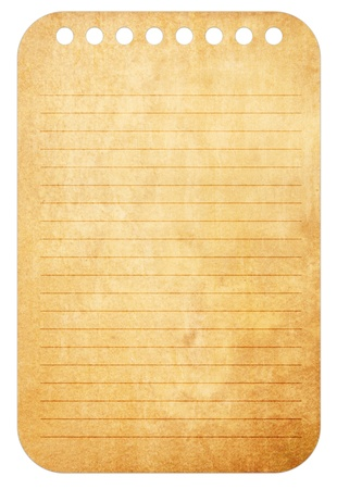Old vintage paper notes background Stock Photo - 12231996