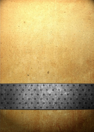 Abstract background with old paper for title for Christmas, anniversary, valentine's day, or other events Stock Photo - 12232028