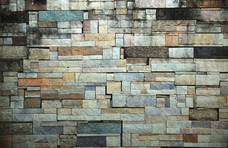 Background of old stone wall texture photo Stock Photo - 12660627